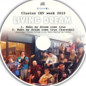 'Make my dream come true' VKV week clusius 2013 'Schrijf je eigen poplied'