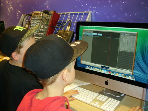 Pop lied maken in garageband in medialab
