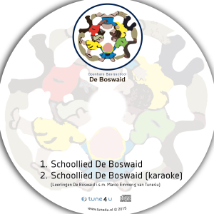 Schoollied De Boswaid single CD