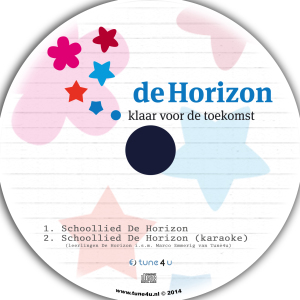 Schoollied De Horizon single CD